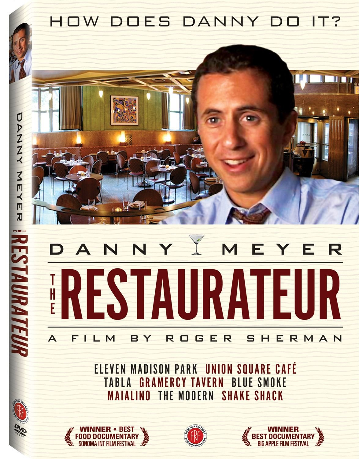 DVD : Danny Meyer - The Restaurateur (Full Frame)