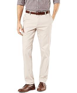 d81388e865a72 Dockers Men's Insignia Wrinkle-Free Khaki Slim-Fit Pant at Amazon ...