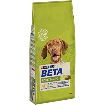 Beta Adult Dry Dog Food With Chicken 14 Kg Amazon Co Uk Pet Supplies