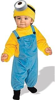 Amazon.com: Rubies Baby Boys Minions Bob Romper Costume ...