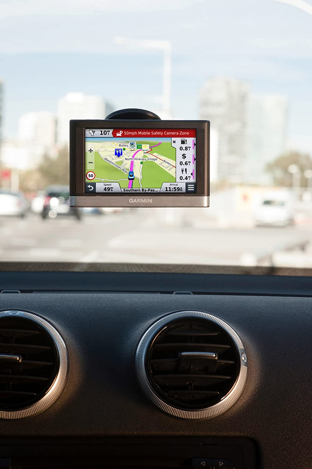 Garmin Nuvi LMTD Sat Nav With UK And Western Europe Maps - Garmin nuvi map update us region