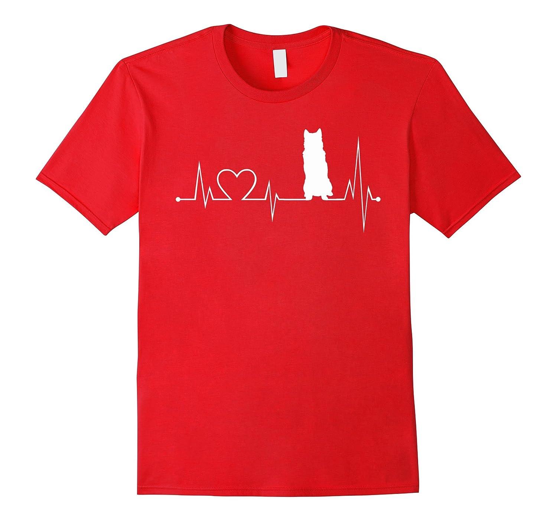 Alaskan-Malamute heartbeat shirt-Alaskan-Malamute lovers tee-Art