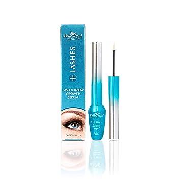8122e22ef84 Belle Azul +Lashes Growth Serum - Longer, Thicker, Fuller Lashes & Enhanced  Brows