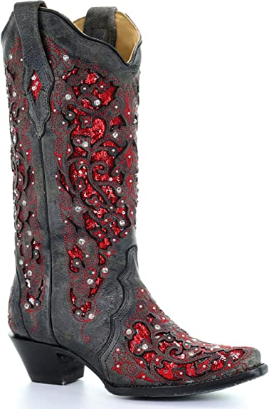***Sale KIDDIE KORRAL Red Sequin Boot  Design 2 Pc Western Outfit sz 3 $28