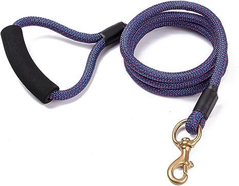 RockPet Correa de Escalada de Montaña para Perros con cuerda de 6 Pies Correa para Razas Grandes Medianas y Pequeñas