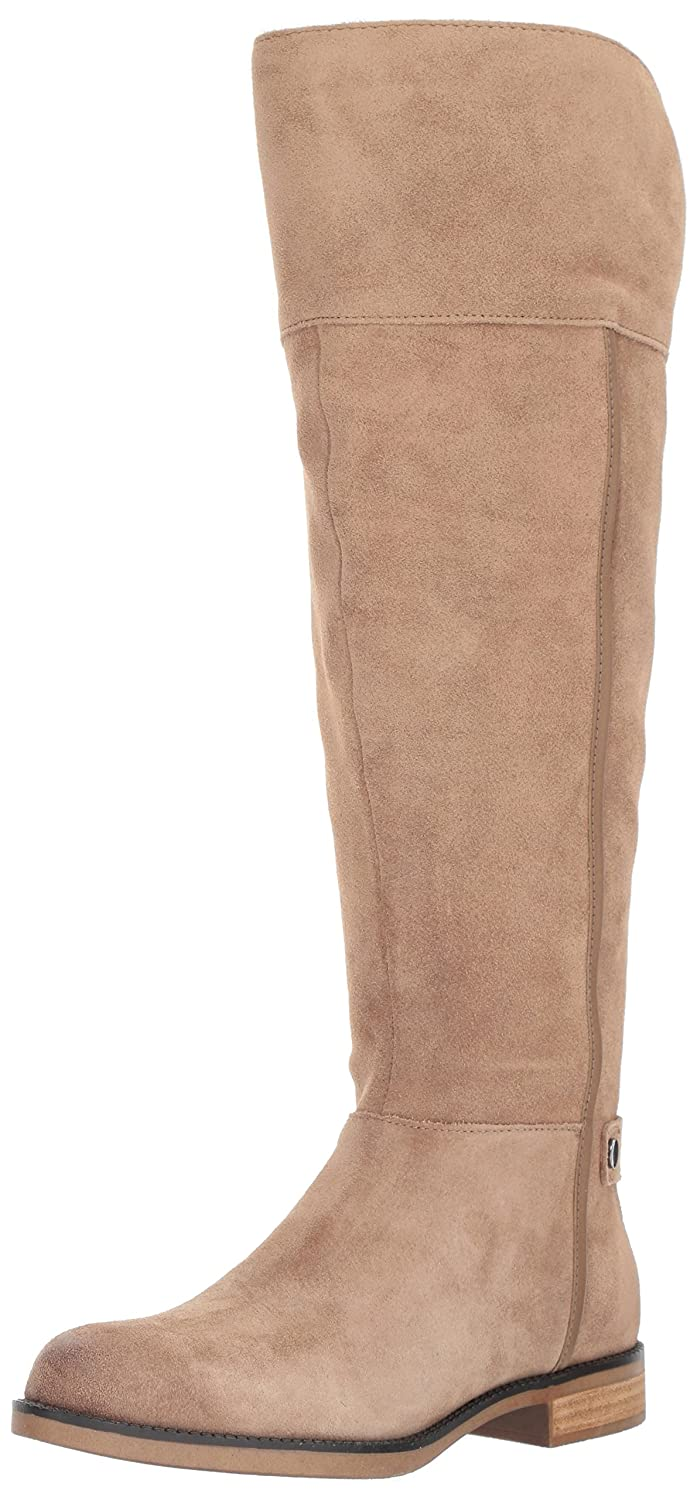 Franco Sarto Women's Christine Wide Calf Riding Boot B01G8VLVDE 10. M US|Mushroom
