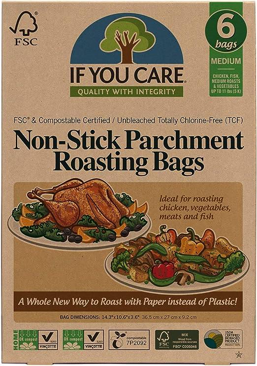 Amazon.com: IF YOU CARE - Bolsas antiadherentes para asar ...