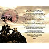 Marine Gift Prayer Birthday Fathers Day Husband Son Wife Daughter Mother For