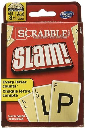 Hasbro Scrabble Slam Juego de Cartas: Amazon.es: Juguetes y ...
