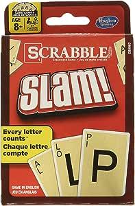 Hasbro Scrabble Slam Juego de Cartas: Amazon.es: Juguetes y juegos