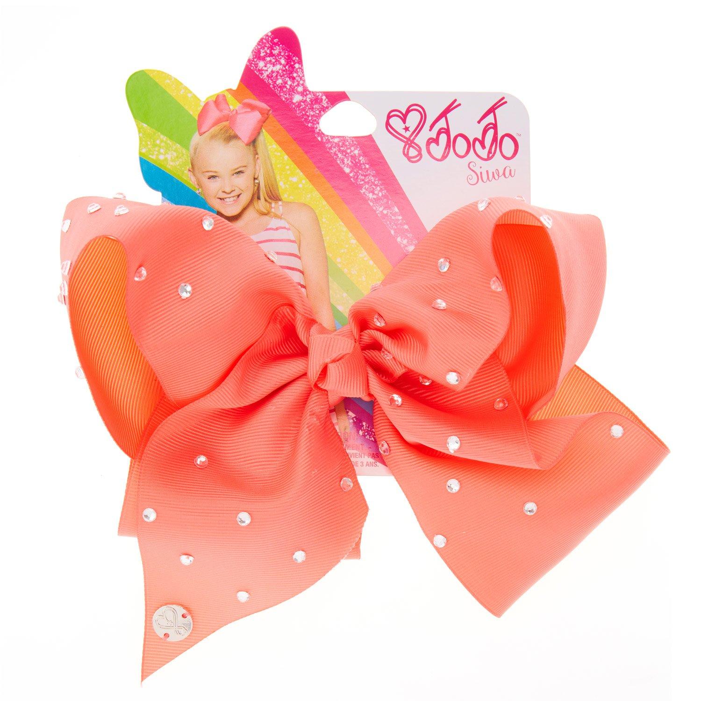 Unicorn Style 2  Hair Bows Girls Diamante Hair Clip Accessories 20cm