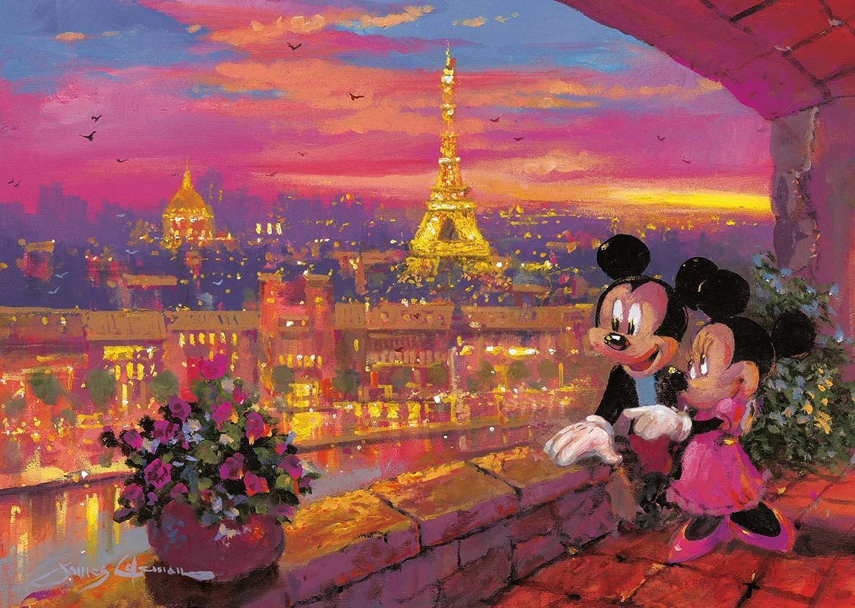 Ravensburger Disney - Noche en París, puzzle de 1000 piezas 19327 1: Amazon.es: Juguetes y juegos