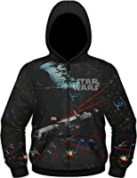 Star Wars Men's Millennium Falcon Hooded Jacket