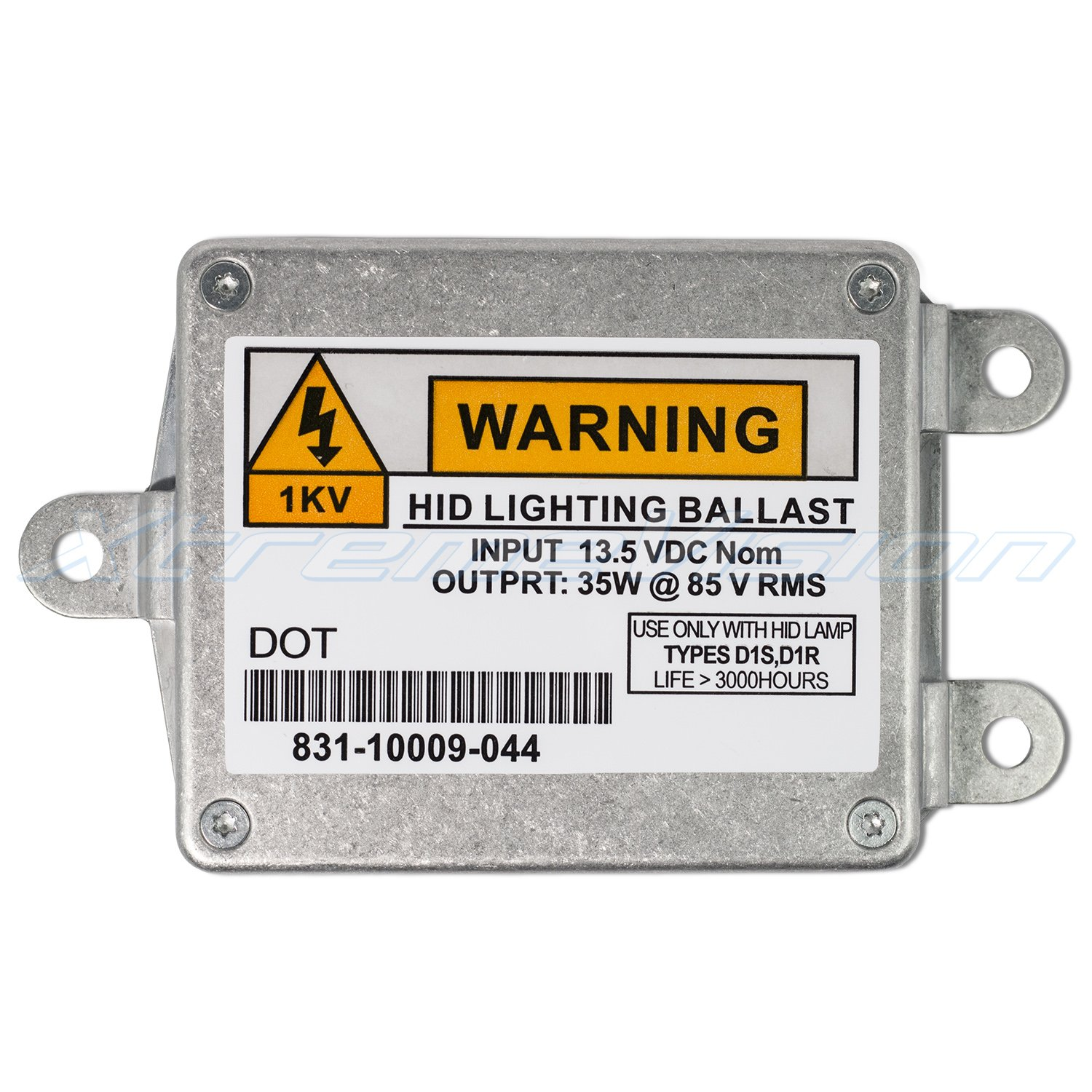 - 2 Year Warranty Single - 1 PCS D1S//D1R XtremeVision OEM Replacement Ballast Compatible with OSRAM 83110009041 Xenon HID Ballast