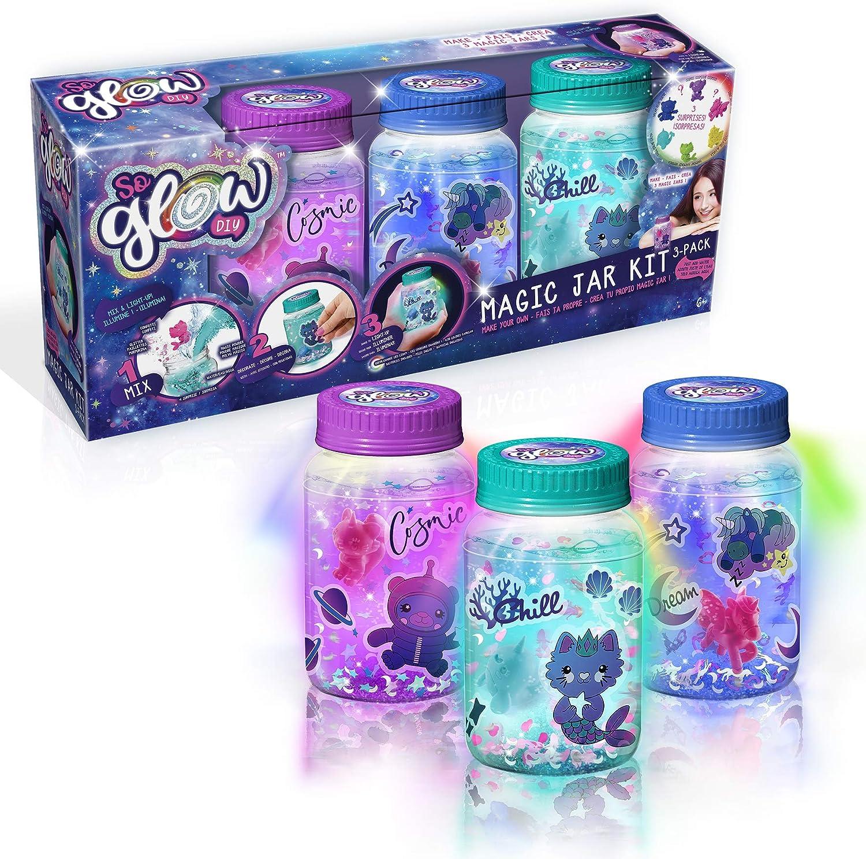 Canal Toys SGD003/ 3210 Tarros mágicos, paquete de 3 unidades, colores surtidos
