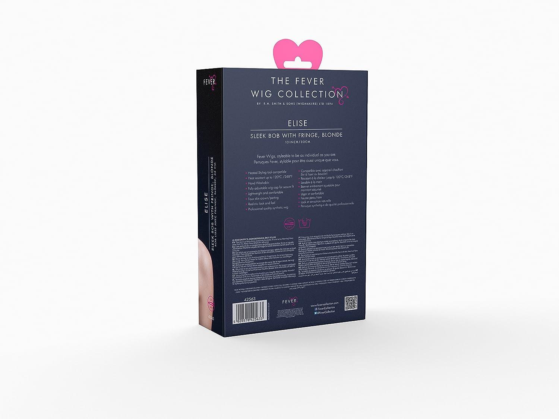 Amazon.com: Fiebre Elise Peluca 13 inch de mujer de 13 inch ...