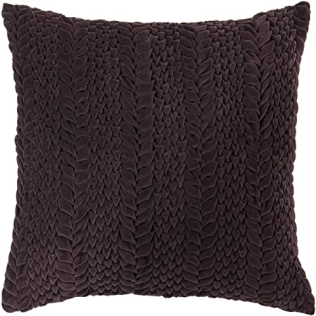 Surya Decorative Pillows AubergineCover Only40 X 40 Amazonco Interesting Aubergine Decorative Pillows