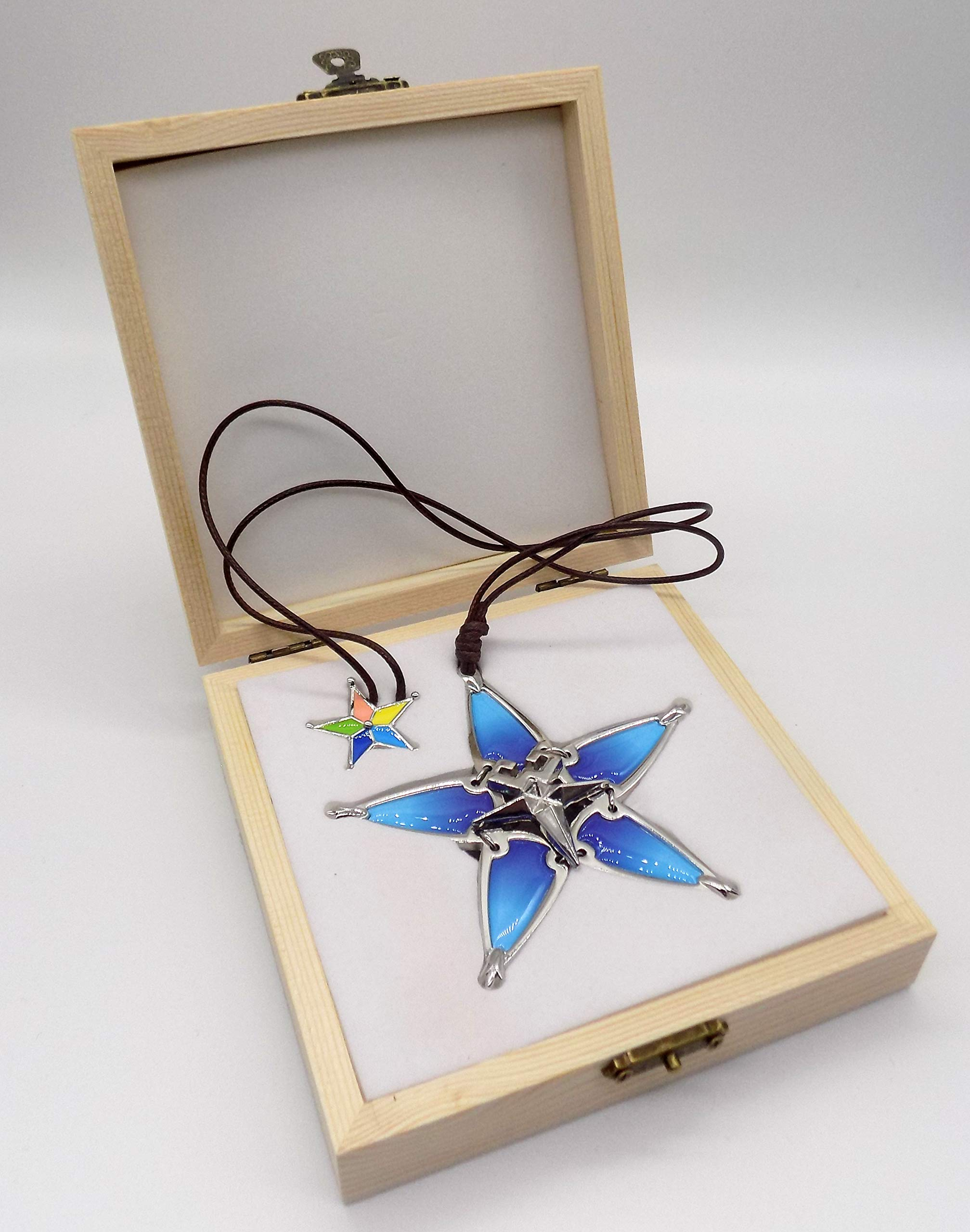 Decalism Aqua's Wayfinder from Kingdom Hearts Made of Metal by Decalism (Image #2)