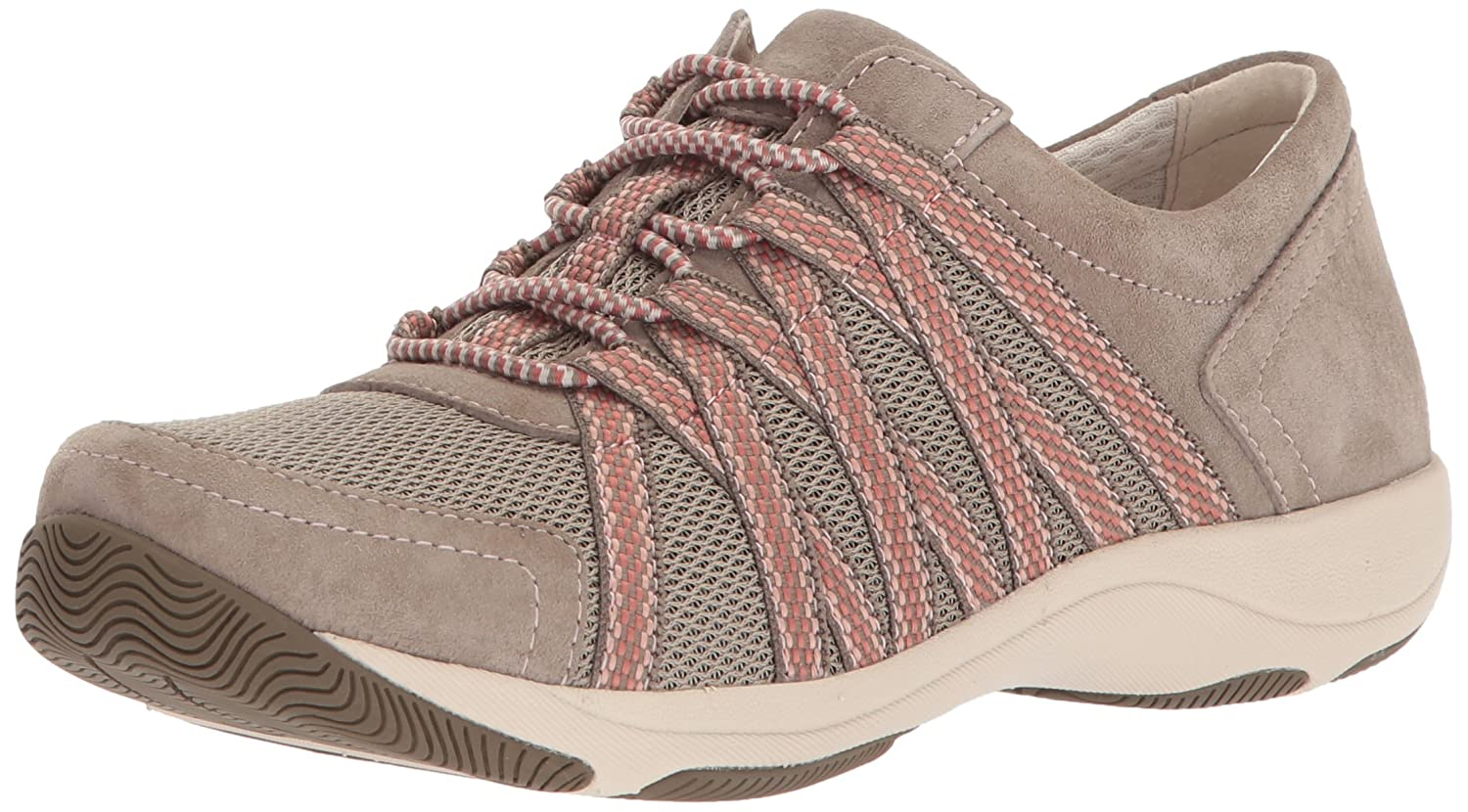 Dansko Women's Honor Sneaker B072XWWSB4 40 M EU (9.5-10 US)|Walnut Suede