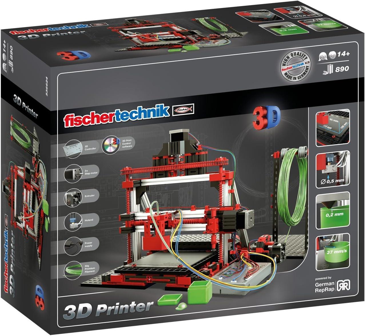 Fischertechnik 3D Printer – Construye tu Propia Impresora 3D ...