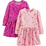 Simple Joys by Carter's Toddler Girls' 2-pack Long-Sleeve Dress Set