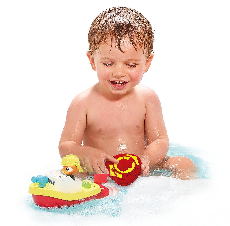 Toomies Remote Rescue Boat Preschool Childrens Bath Toy