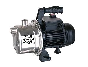 T.I.P. Bomba de jardín de acero inoxidable 31372 GP 5000 INOX, caudal de hasta 5,000 l / h