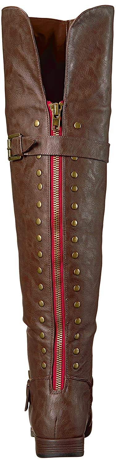 Brinley Co Womens Sugar Over The Over The Knee Boot