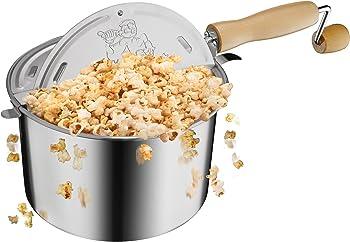 Great Northern 6.5-Qt Stove Top Popcorn Popper