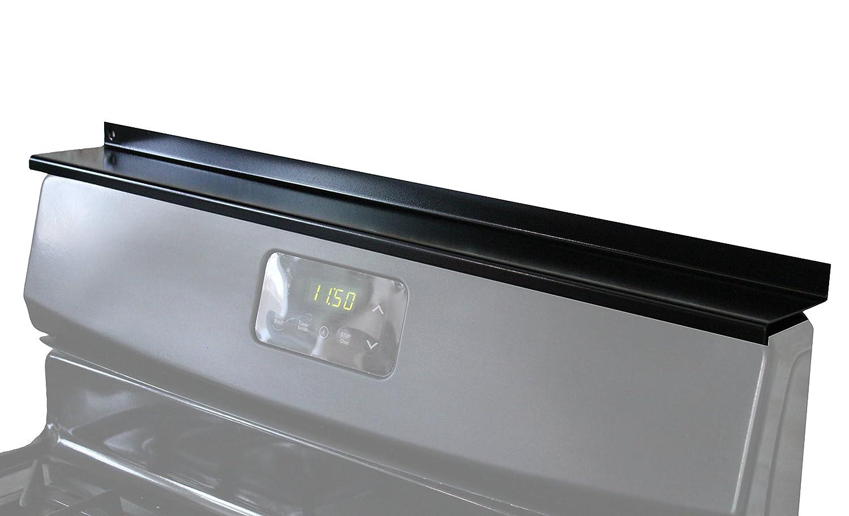 "StoveShelf - Black - 30"" - Magnetic Shelf for Kitchen Stove, Spice Rack, Kitchen Storage Solution, Zero Installation"