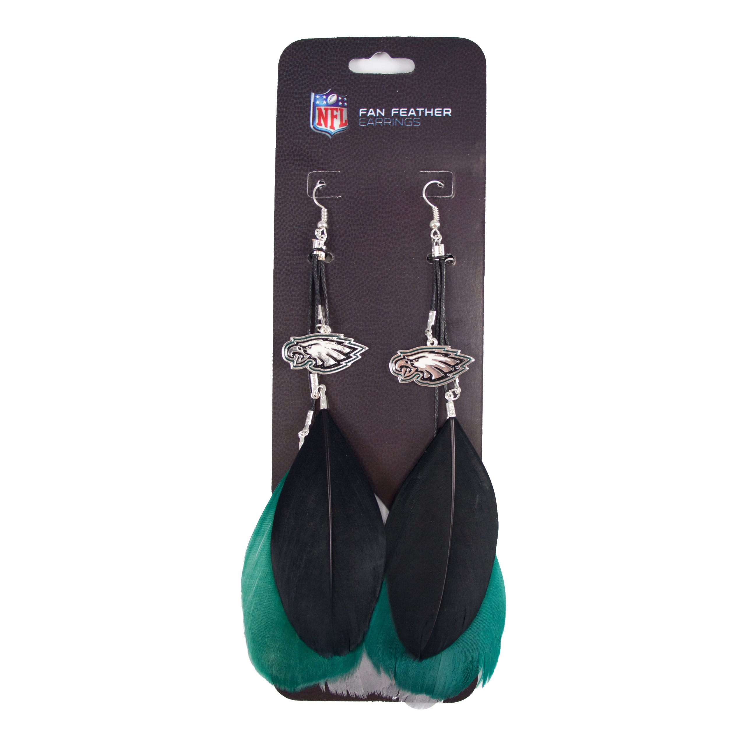 NFL Philadelphia Eagles Feather Earrings
