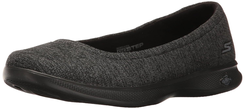Skechers Performance Women's Go Step Lite-Evoke Walking Shoe B01MS3W9G3 9 B(M) US|Black/Gray