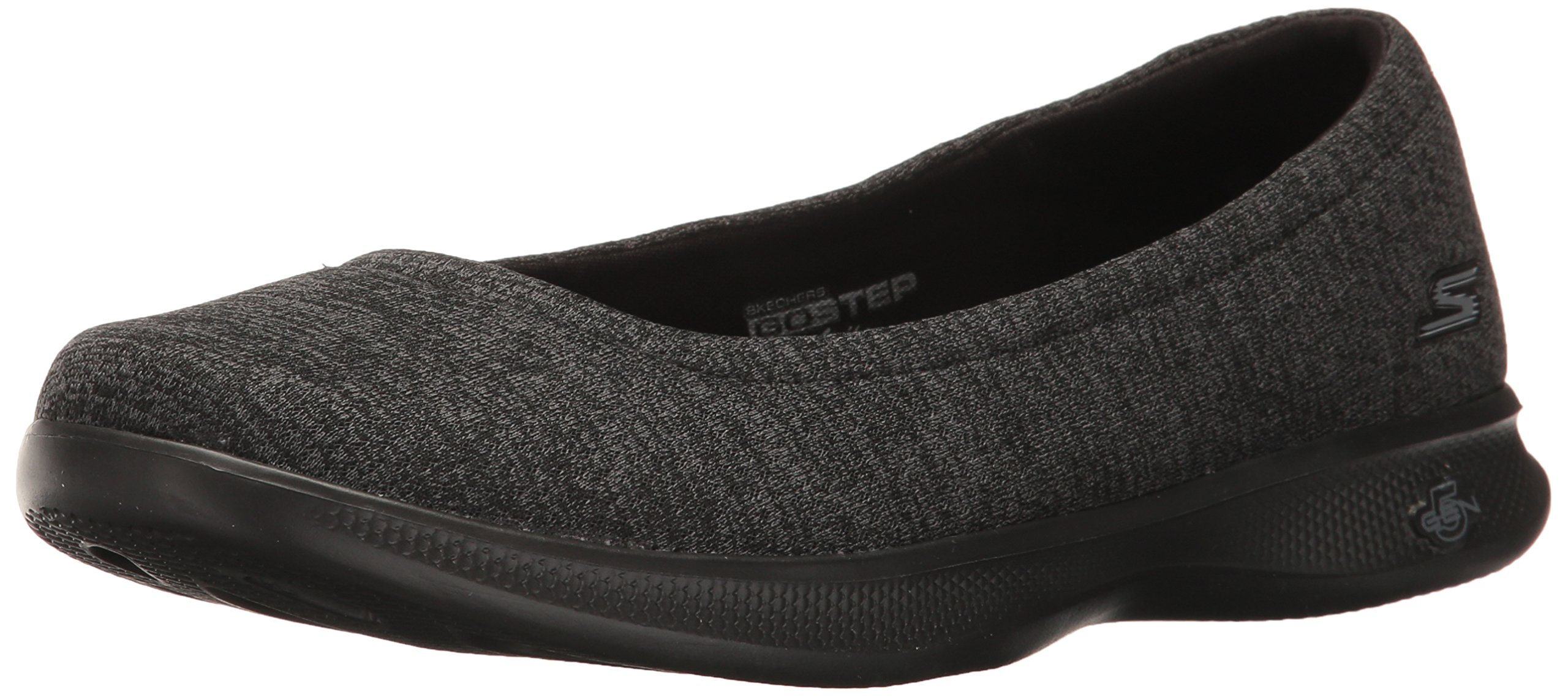 Skechers Performance Women's Go Step Lite-Evoke Walking Shoe,Black/Gray,10 M US