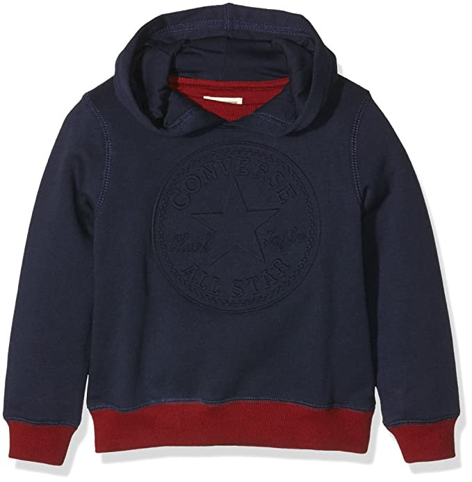 222dd197f6bb Converse Boy s Embossed Chuck Pullover Jumper  Amazon.co.uk  Clothing