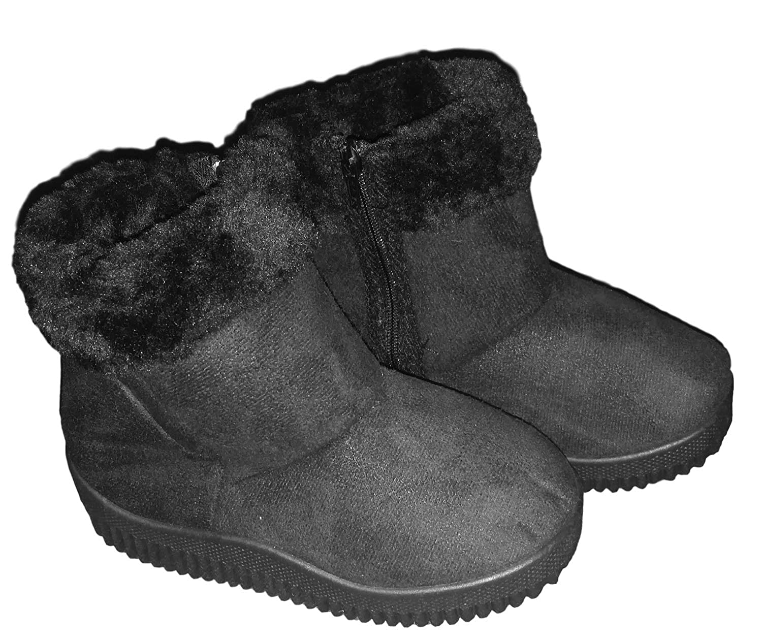 Callie Fashion Boots with Fur Trim for Baby Toddler Girls BB1588