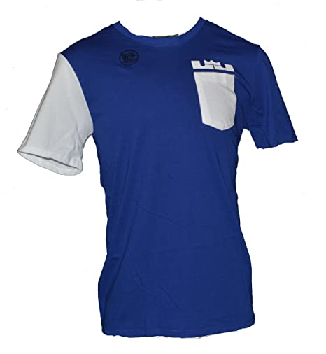 356308f32e3 Image Unavailable. Image not available for. Color  Nike Men s Lebron James  Pocket Dri-Fit Tee Shirt ...