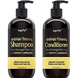 Sugarfox Biotin Shampoo and Conditioner Set - Improves Appearance of Hair Growth Shampoo and Conditioner, Improves Appearance