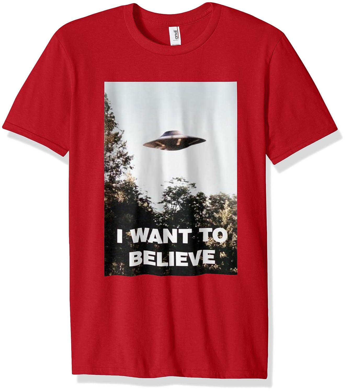 UFO Shirt - I Want To Believe Alien UFO Tee Shirt 2016-Vaci