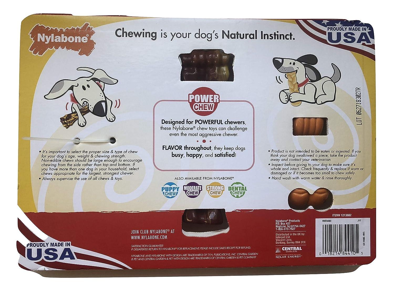 Amazon.com   Nylabone Dog Chews for Powerful Chewers 0b4640d4fd4