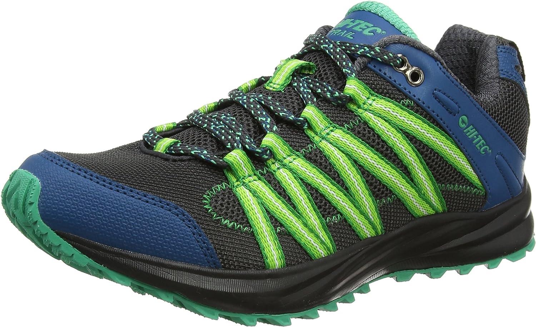 Hi-Tec Sensor Trail Lite, Zapatillas de Running para Asfalto para Hombre, Negro (Black/Corsair/Blarney 026), 46 EU: Amazon.es: Zapatos y complementos