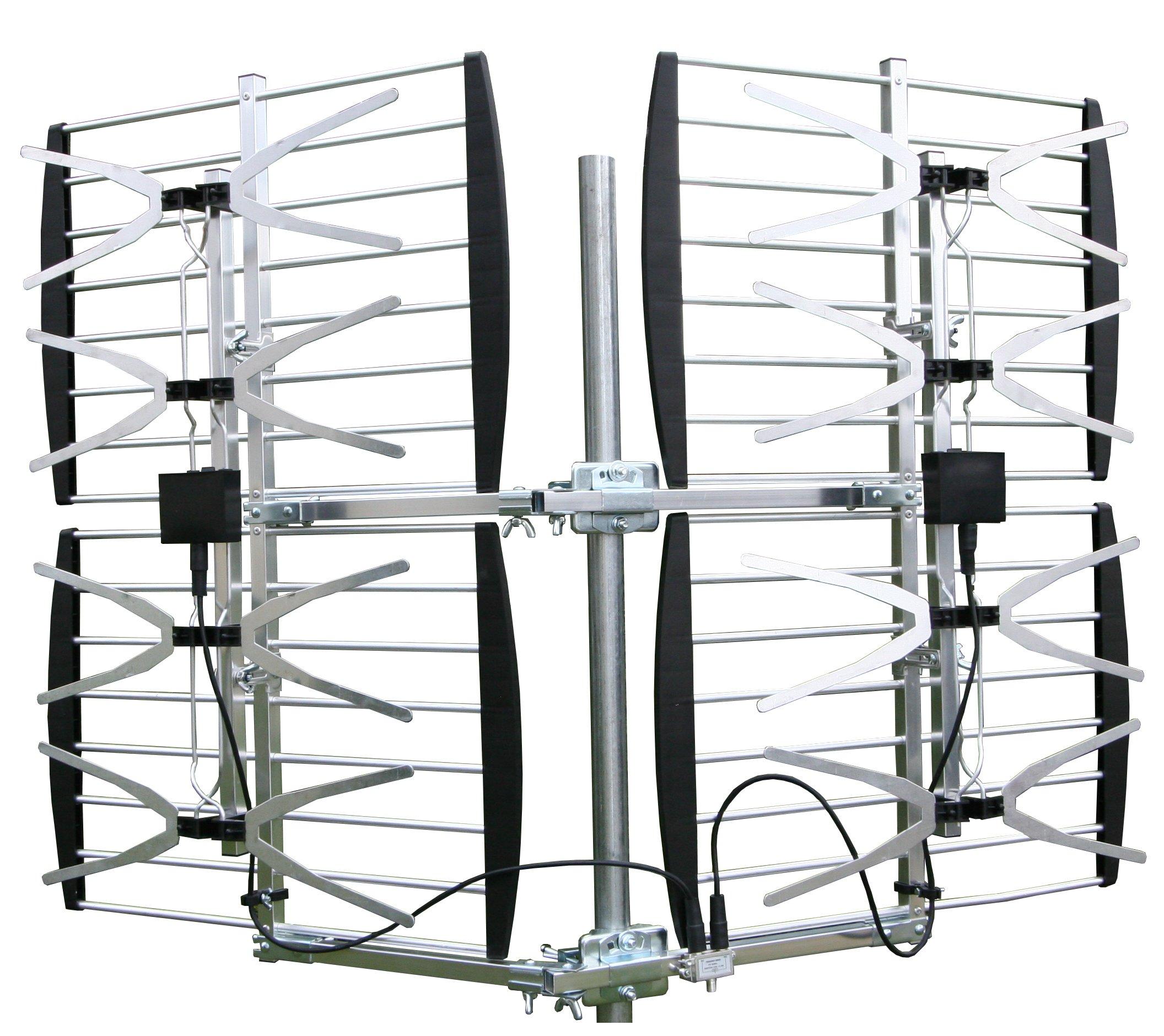 Xtreme Signal HDB8X 8-Bay VHF/UHF HDTV Bowtie Antenna by Xtreme Signal