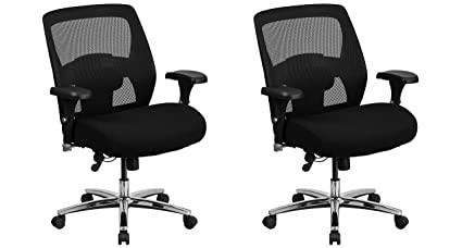 b87249fb6c7 Image Unavailable. Image not available for. Color  Flash Furniture Hercules  Series 24 7 Intensive Use Big   Tall 500 lb. Rated