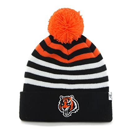 huge selection of 62959 e93fd  47 NFL Cincinnati Bengals Youth Yipes Cuff Knit with Pom, One Size, Black