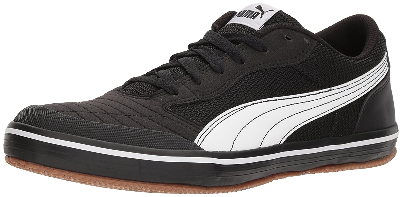 PUMA Men's Astro Sala Sneaker  Black White  10 M US