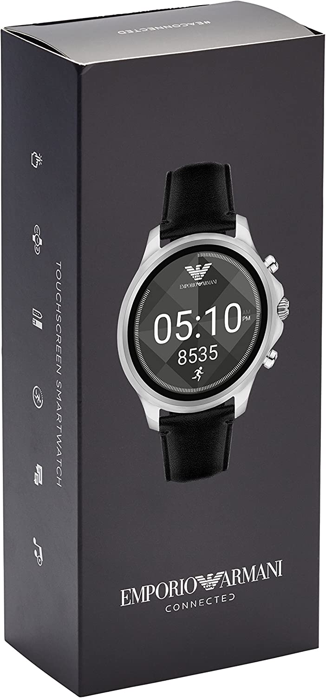 Amazon.com: Emporio Armani - Reloj inteligente con pantalla ...