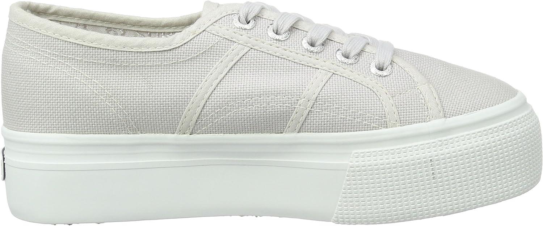 Superga 2790-Acotw Linea Up And Down Sneakers voor dames Grijs Grijs Seashell