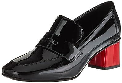MARC L24 10 Black SD Noir Bout Femme CAIN Escarpins HB fermé gOFqgIr