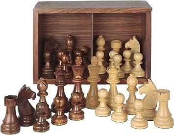 Aquamarine Games - Piezas de ajedrez Staunton 5 en Caja, Juego ...