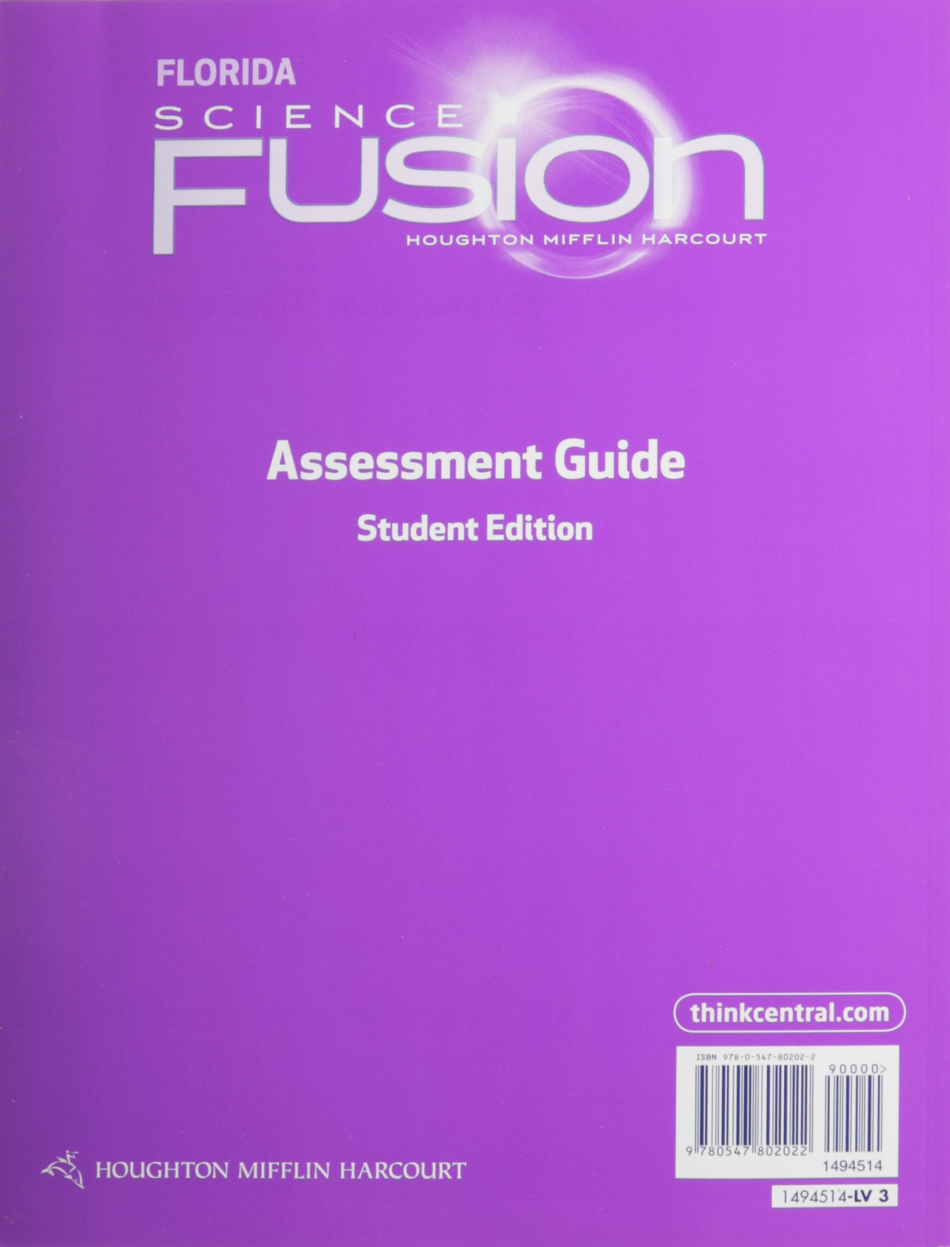 Houghton mifflin harcourt science fusion florida assessment books houghton mifflin harcourt science fusion florida assessment books grade 3 houghton mifflin harcourt 9780547802022 amazon books fandeluxe Images