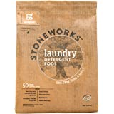 Grab Green Stoneworks Laundry Detergent Pods, Powered by Naturally-Derived Plant & Mineral-Based Powder Pods, Oak Tree, 50 Co